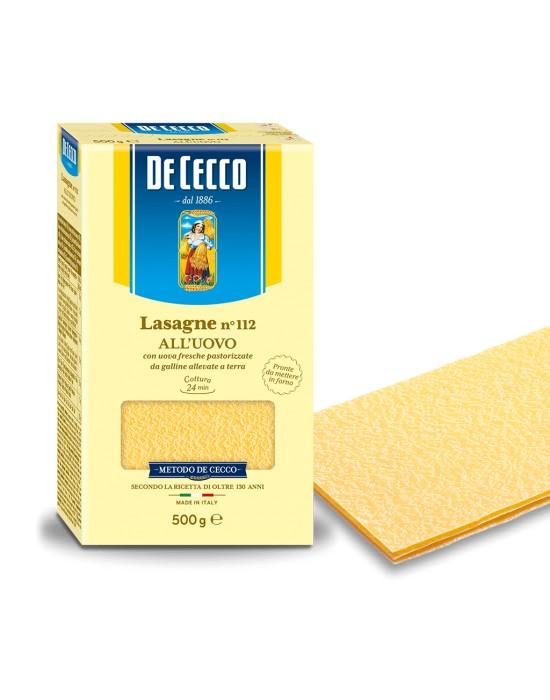 Lasagne Nº112 All Uovo