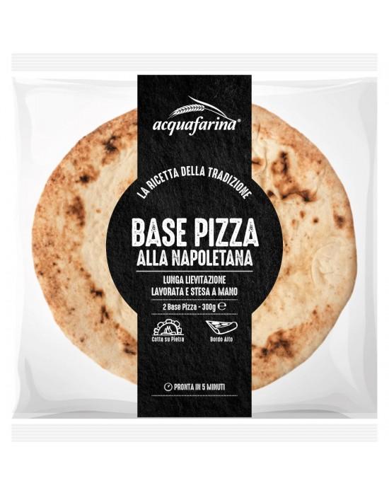 BASE PIZZA NAPOLETANA CLASSICA x 2